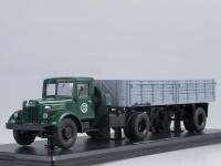 1:43 МАЗ-200В с полуприцепом МАЗ-5215