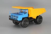 1:43 Карьерный самосвал БелАЗ-7548 - синяя кабина