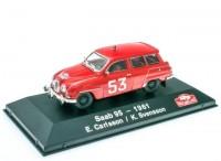 1:43 SAAB 95 Station wagon #53 E.Carlsson/K.Svensson Rally Monte Carlo 1961