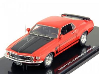 масштабная модель 1/43 ford mustang 1965 red