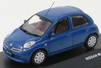 1:43 Nissan Micra (рестайлинг) 2008 (wild blueberry)