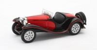 1:43 BUGATTI T55 Roadster 1932 Black/Red