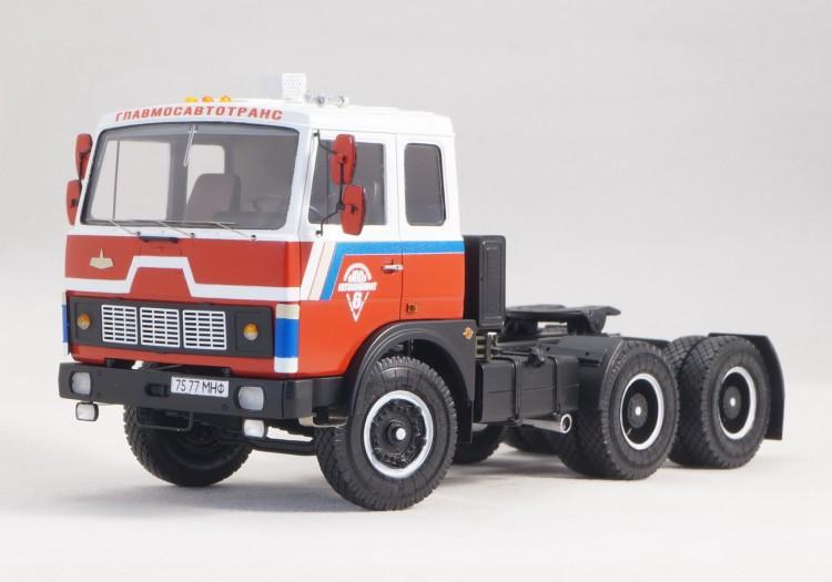 1:43 МАЗ-6422    Седельный тягач 6х4, 1981г.