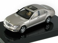 1:43 Mercedes-Benz S500 SWB 2005 (Cubanit Silver)