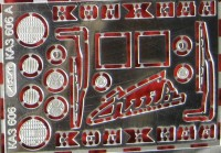 1:43 набор фототравления для КАЗ 606 А