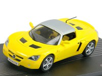 1:43 OPEL SPEEDSTER 2000-2005 Yellow/Silver