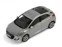 1:43 HYUNDAI i30 5-doors 2012 Silver