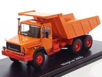 1:43 MAGIRUS 290 D26K 6х4(самосвал) 1975 Orange
