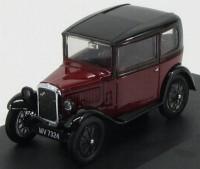 1:43 AUSTIN Seven De Luxe RN Saloon 1931 Maroon