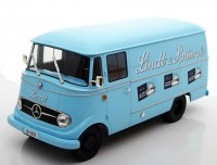 "1:18 MERCEDES-BENZ L319 фургон ""Lindt & Sprüngli"" 1957 Light Blue"