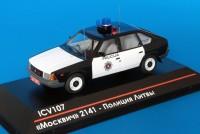 1:43 Москвич 2141 - Полиция Литвы (серия 75 экз.)