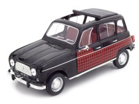 1:18 RENAULT 4 Parisienne 1964 Black/Red
