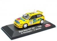 1:43 SEAT Ibiza GTI 16V #15 H.Rovanpera/V.Silander Rally Monte Carlo 1998