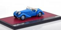 1:43 BUGATTI T57S Corsica Roadster Malcolm Campbell #57531 1937 Blue