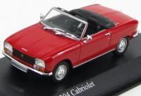 1:43 Peugeot 304 Cabriolet - 1970/1975 (red)
