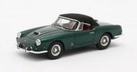 1:43 FERRARI 400 Superamerica Pininfarina Cabriolet #1611 SA (закрытый) 1960 Metallic Green