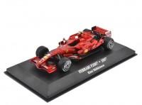 """1:43 FERRARI F2007 #6 Kimi Räikkönen """"Scuderia Ferrari"""" Чемпион мира 2007"""