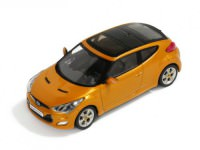 1:43 HYUNDAI VELOSTER 2012 Orange