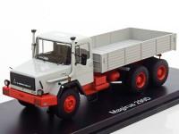 1:43 Magirus 290 D26L 6x4 (бортовой грузовик) 1975 Grey/Red