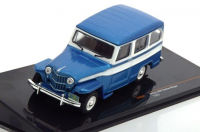 1:43 JEEP Willys Station Wagon 4x4 1960 Metallic Blue/White