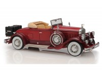 1:43 Pierce Arrow Model B Roadster 1930 open roof (maroon)
