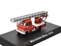 1:72 MERCEDES-BENZ L319 пожарная лестница 1961