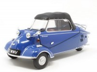 1:18 MESSERSCHMITT KR200 Bubble Car Cabrio 1955 Royal Blue