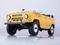 1:18 УАЗ-469 (31512) бежевый (открытый)