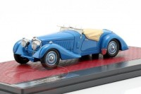 1:43 BUGATTI T57S Corsica Roadster Malcolm Campbell #57531 (2 вариант) 1937 Blue