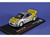 1:43 PEUGEOT 307 WRC BENQUE A. ESCUDERO C. #1 RALLYE du LIMOUSIN 2008