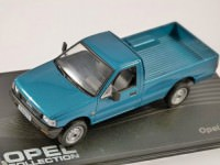 1:43 OPEL CAMPO Pick-up 1993-2001 Metallic Turquoise