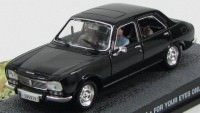 "1:43 PEUGEOT 504 ""For Your Eyes Only"" 1981 Black"