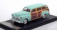 1:43 DODGE Coronet Woody Wagon 1949 Light Green