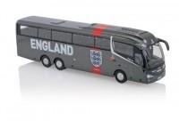 """1:76 официальный автобус сборной Англии по футболу SCANIA Irizar """"England Team Coach"""" 2018"""