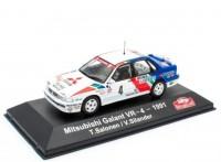 1:43 MITSUBISHI Galant VR-4 #4 T.Salonen/V.Silander Rally Monte Carlo 1991