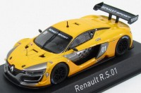 1:43 RENAULT R.S.01 Presentation Car 2015 Yellow