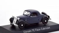1:43 CITROEN Traction 7C Faux Cabriolet 1937 Dark Blue
