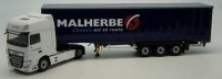 "1:43 DAF XF MY 2017 Super Space Cab c полуприцепом  ""MALHERBE"" 2019"