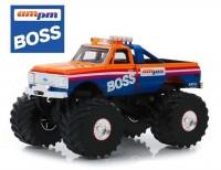 "1:43 CHEVROLET K-10 Monster Truck ""AM/PM Boss"" 1972 (колеса 66 дюймов)"
