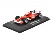 "1:43 FERRARI F2002 #1 Michael Schumacher ""Scuderia Ferrari"" Чемпион мира 2002"