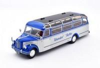 1:43 автобус BORGWARD BO 4000 GERMANY 1952 Blue/Silver