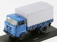1:43 ИФА В50 Л Бортовой грузовик синий с серым тентом (г.Ленинград) 1983