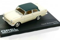 1:43 OPEL REKORD COUPE P2 1960-1963 White/Dark Green