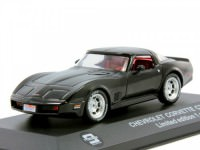 1:43 CHEVROLET Corvette C3 1980 Black
