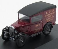 "1:43 AUSTIN Seven RN Van ""LMS"" 1932 Maroon/Black"