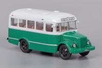 1:43 Курганский автобус 651 бежево-зелёный