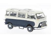 1:43 FORD Taunus Transit Panoramabus 1962 Dark Blue/White