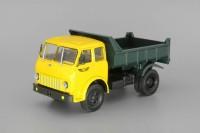 1:43 МАЗ-503Б (1963) самосвал, желтый / зеленый
