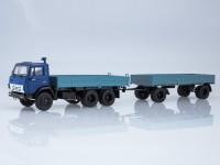 1:43 КАМАЗ-5320 с прицепом ГКБ-8650