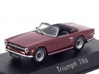 1:43 TRIUMPH TR6 1970 Damson Red